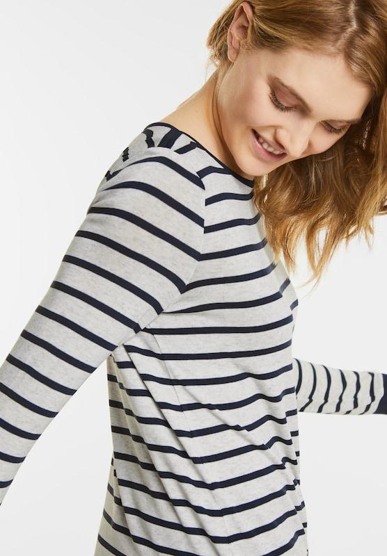 Street One Contrasting Term Stripe Shirt