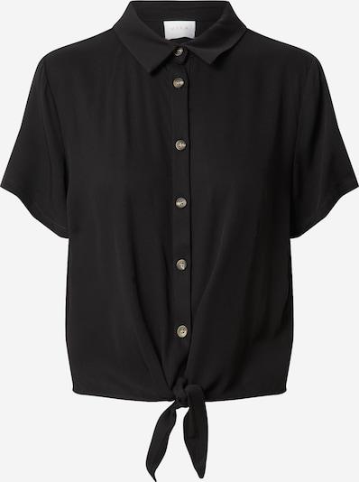 VILA Blouse 'VISUVITA' in de kleur Zwart, Productweergave