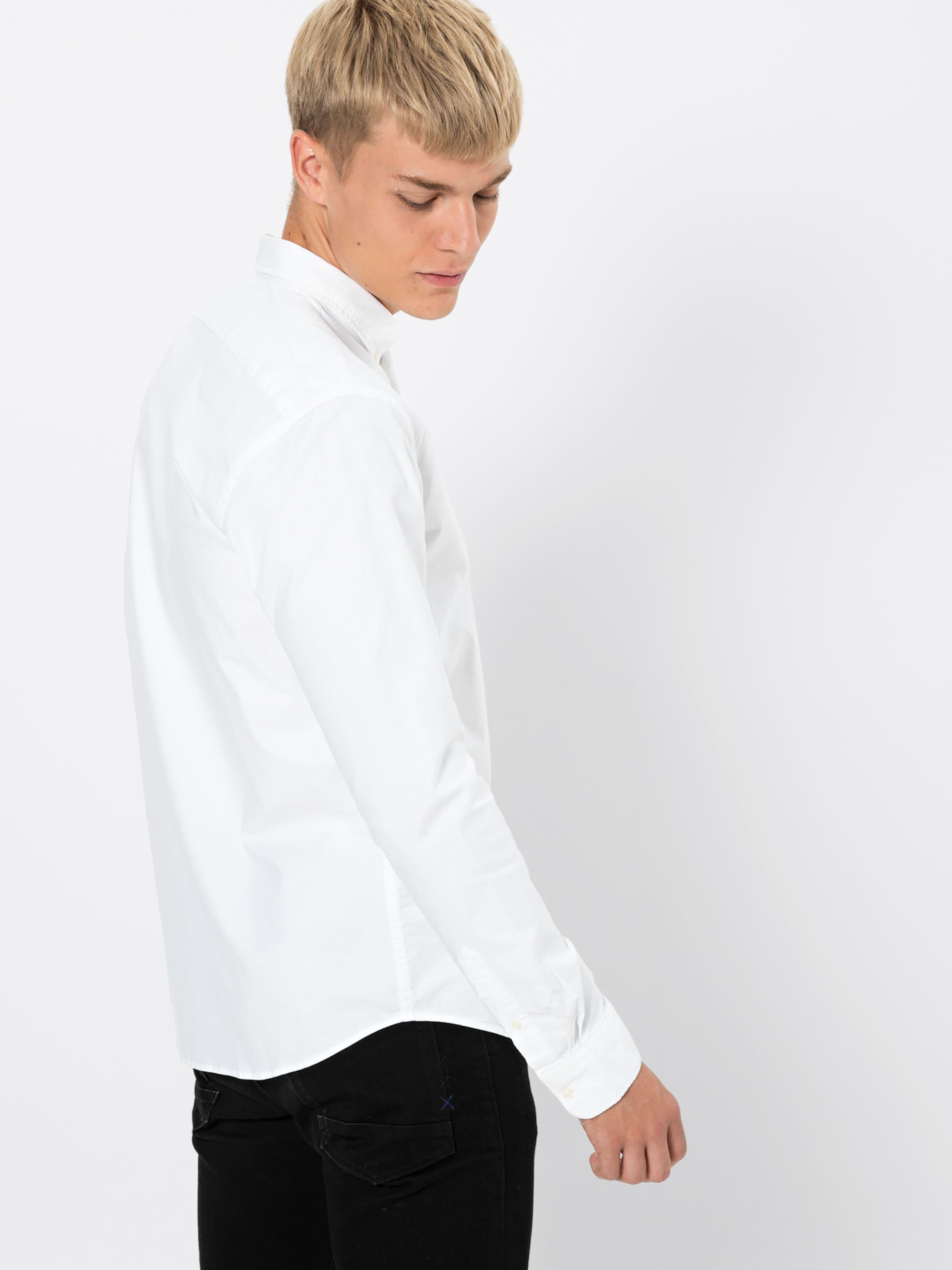 Contrast Details' Soda En Chemise 'nos Scotchamp; Shirt Blanc With 8PnwXk0O