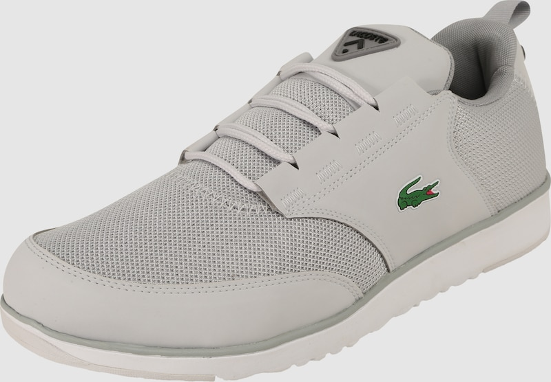 LACOSTE Sneakers mit Materialmix