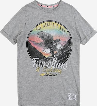 NAME IT T-Shirt in graumeliert / mischfarben, Produktansicht