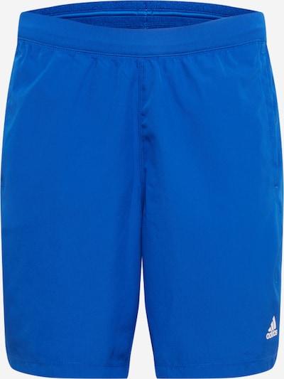 ADIDAS PERFORMANCE Sporta bikses karaliski zils / balts, Preces skats