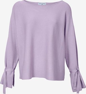 purpurinė heine Laisvas megztinis