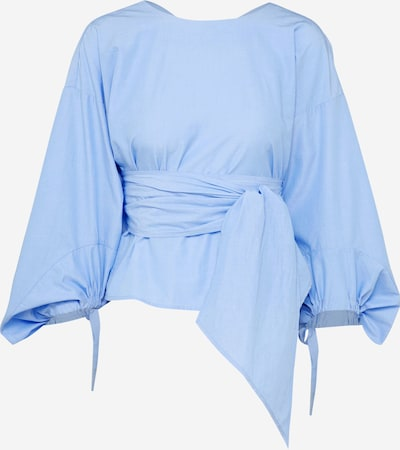 EDITED Bluse 'Lovey' in hellblau, Produktansicht