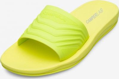 CAMPER Muiltjes 'Match' in de kleur Neongeel, Productweergave