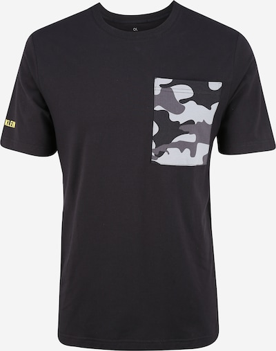 Calvin Klein Performance Shirt 'SHORT SLEEVE T-SHIRT' in grau / schwarz, Produktansicht