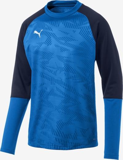 PUMA Sweatshirt 'Cup Training Core' in blau / dunkelblau, Produktansicht
