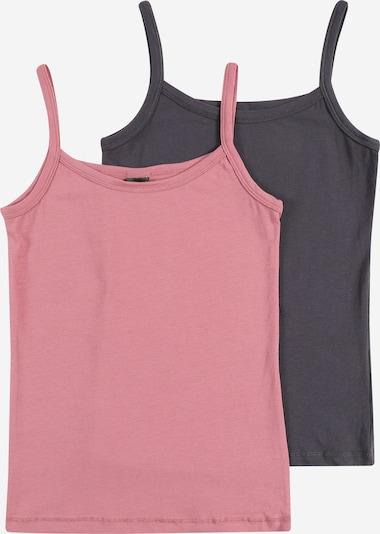 SCHIESSER Spodnja majica | siva / roza barva, Prikaz izdelka