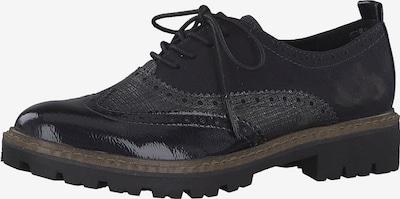 MARCO TOZZI Chaussure à lacets en bleu marine, Vue avec produit