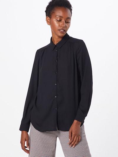 VILA Bluse i sort, Modelvisning