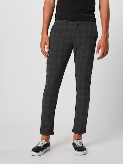 JACK & JONES Chino 'Marco Connor' in basaltgrau, Modelansicht