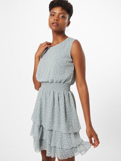 SISTERS POINT Kleid 'MICA' in hellblau / weiß, Modelansicht