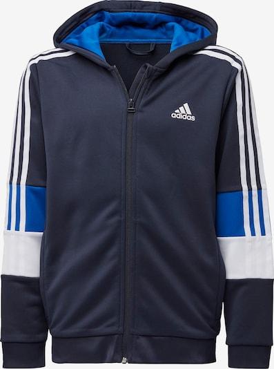 ADIDAS PERFORMANCE Jacke in marine / royalblau / weiß, Produktansicht