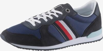 TOMMY HILFIGER Sneaker 'Maxwell' in navy / rot, Produktansicht