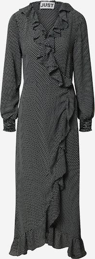 JUST FEMALE Robe 'Niro' en noir / blanc, Vue avec produit