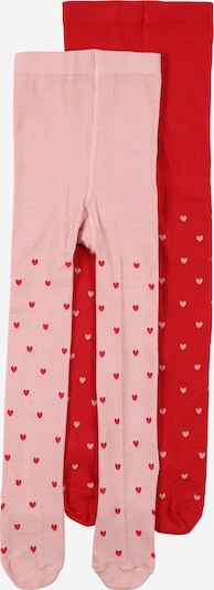 ABOUT YOU Collant '2er Pack Emmy Tights' en rose / rouge, Vue avec produit