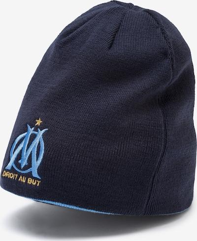 PUMA Sportmuts 'Olympique de Marseille Wende' in de kleur Blauw / Enziaan / Goud / Wit, Productweergave