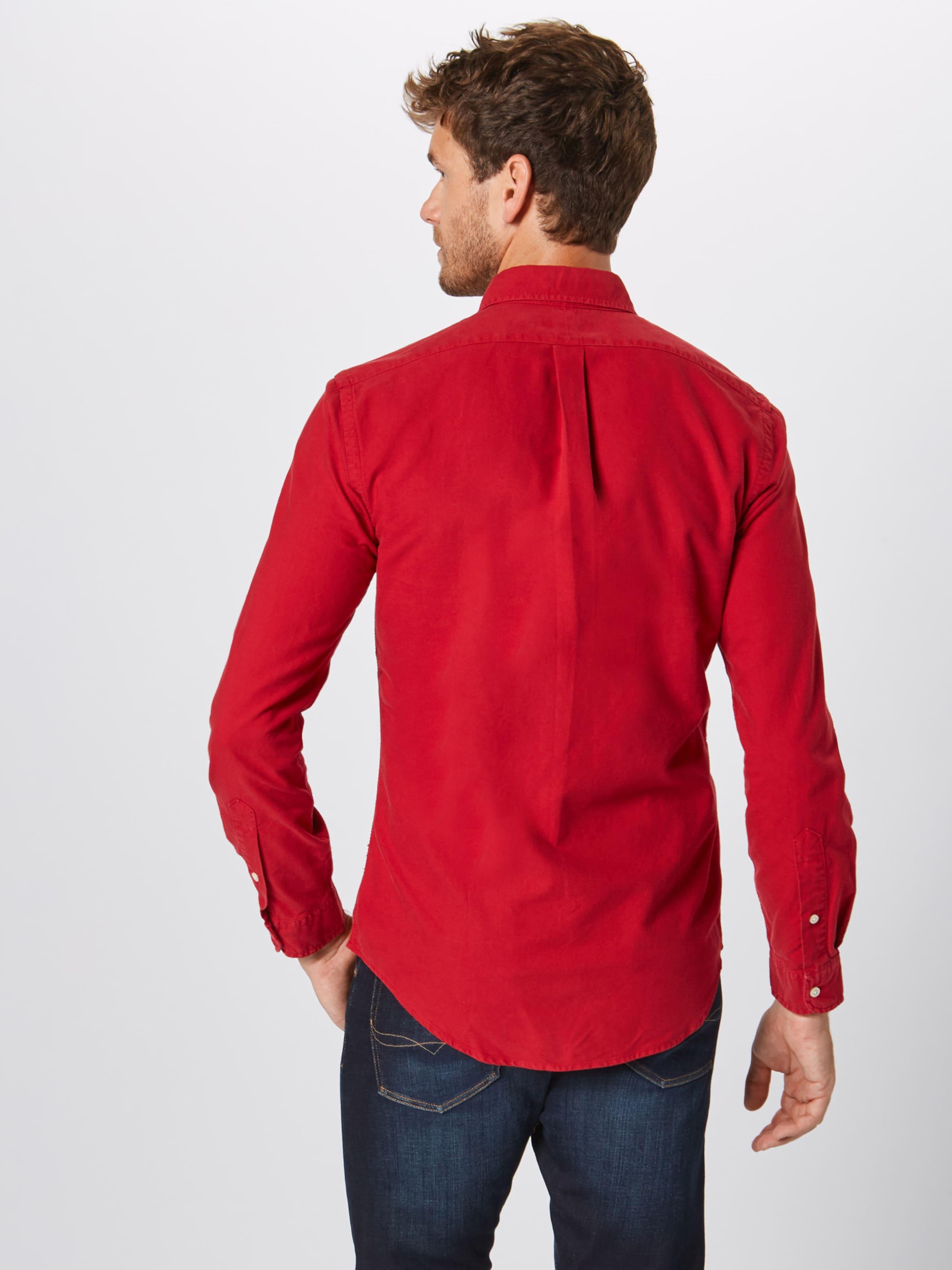 Rouge En Chemise Ralph Lauren 'oxford' Polo qzpGMVSU