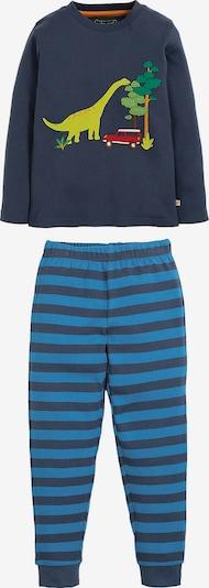 frugi Schlafanzug in blau / navy / schilf, Produktansicht