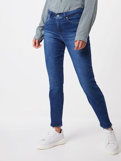 BRAX Jeans 'SHAKIRA' in de kleur Blauw denim: Vooraanzicht