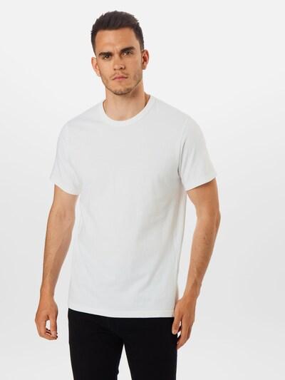 LEVI'S T-Shirt 'AUTHENTIC CREWNECK TEE' en blanc: Vue de face