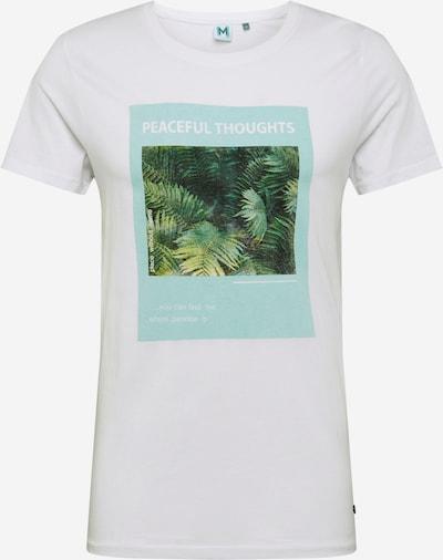 Marškinėliai 'Marlon' iš Hailys Men , spalva - žalia / mėtų spalva / balta, Prekių apžvalga