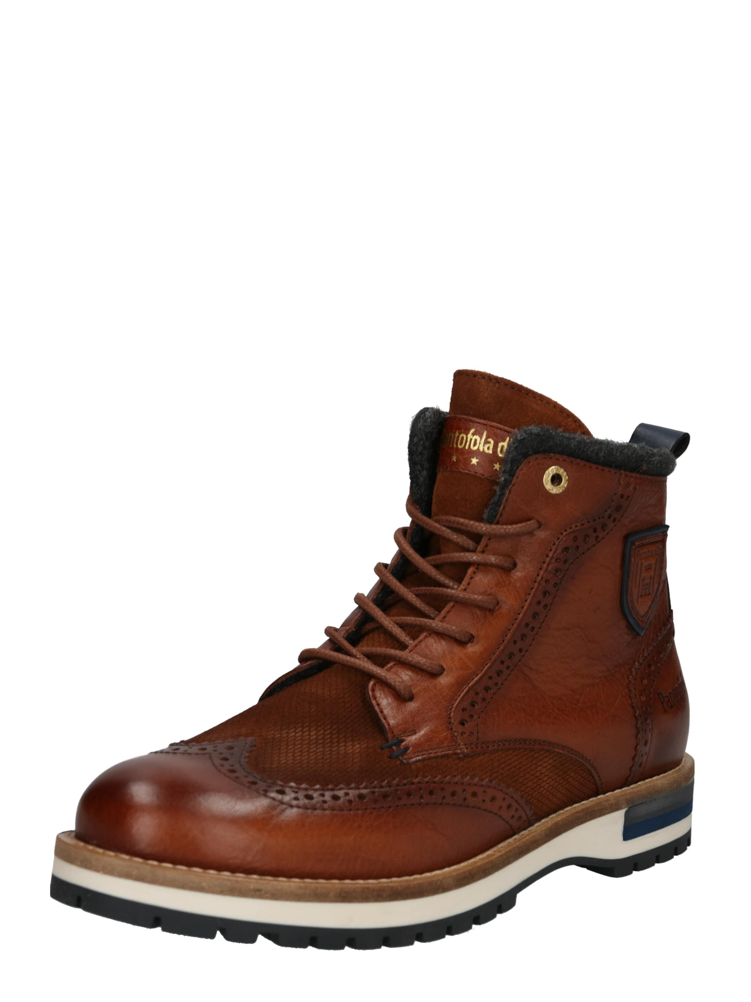 Stiefel Dunkelbraun Pantofola Uomo' In D'oro 'tocchetto R54AjL3