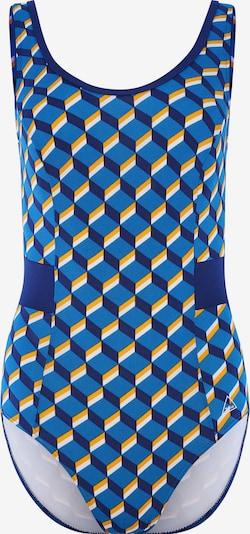 Tweka Badpak in de kleur Blauw / Geel / Wit, Productweergave