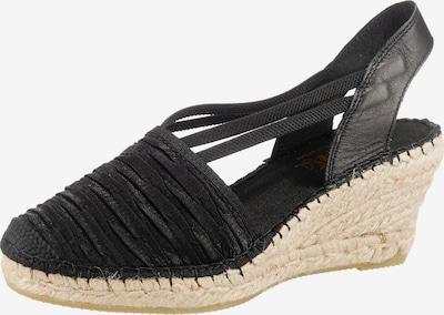 Vidorreta Sandale in schwarz, Produktansicht