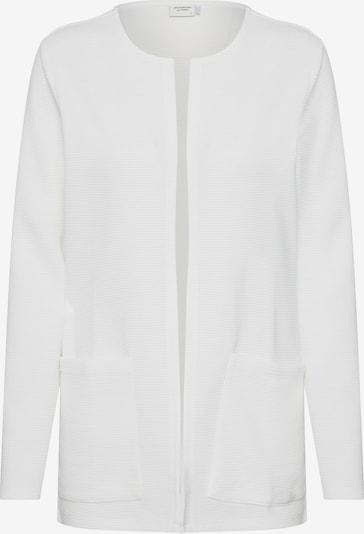 JACQUELINE de YONG Cardigan en blanc, Vue avec produit