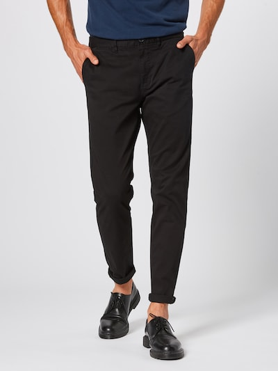 SCOTCH & SODA Chinohose 'Mott' in schwarz, Modelansicht