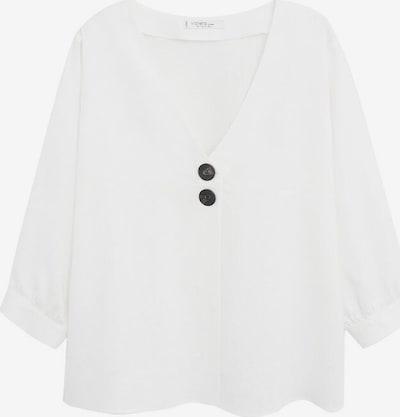 VIOLETA by Mango Tuniek in de kleur Wit, Productweergave
