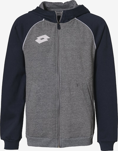 LOTTO Sweatjacke 'Delta' in navy / grau, Produktansicht