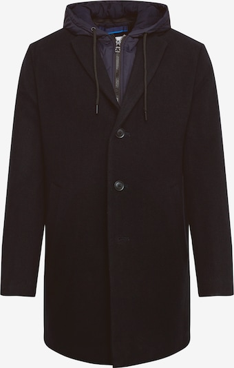 EDC BY ESPRIT Manteau mi-saison '2in1 hood coat*' en bleu marine, Vue avec produit