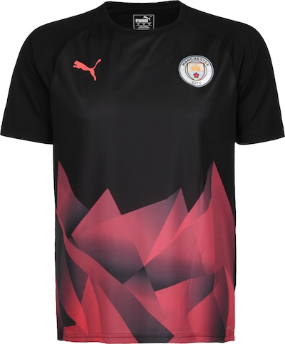 PUMA Trainingsshirt 'Manchester City Stadium' in pastellrot / schwarz / weiß, Produktansicht