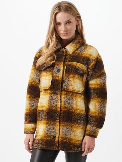 ONLY Veste mi-saison en marron / jaune, Vue avec modèle