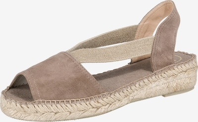 Toni Pons Sandalen in taupe, Produktansicht