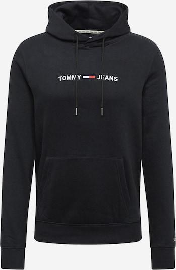 Tommy Jeans Sweat-shirt en rouge / noir / blanc, Vue avec produit