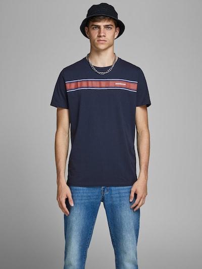 JACK & JONES Shirt in de kleur Navy: Vooraanzicht