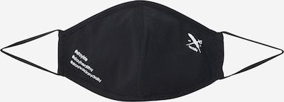 Iriedaily Masque en tissu 'Mini Flag' en noir, Vue avec produit