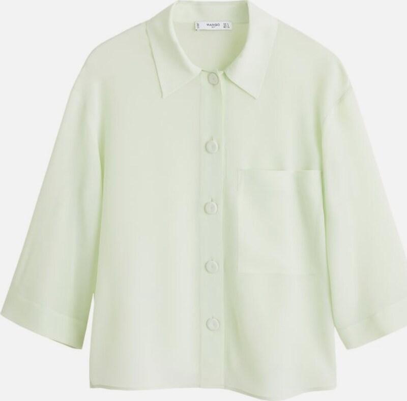 MANGO Hemd 'Teddy-i' in grün   mint  Neuer Aktionsrabatt
