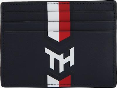 TOMMY HILFIGER Geldbörse 'NAUTICAL' in dunkelblau / rot / weiß, Produktansicht