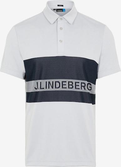 J.Lindeberg Functioneel shirt 'Theo' in de kleur Grijs, Productweergave