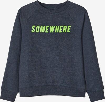 NAME IT Sweatshirt in navy / kiwi, Produktansicht