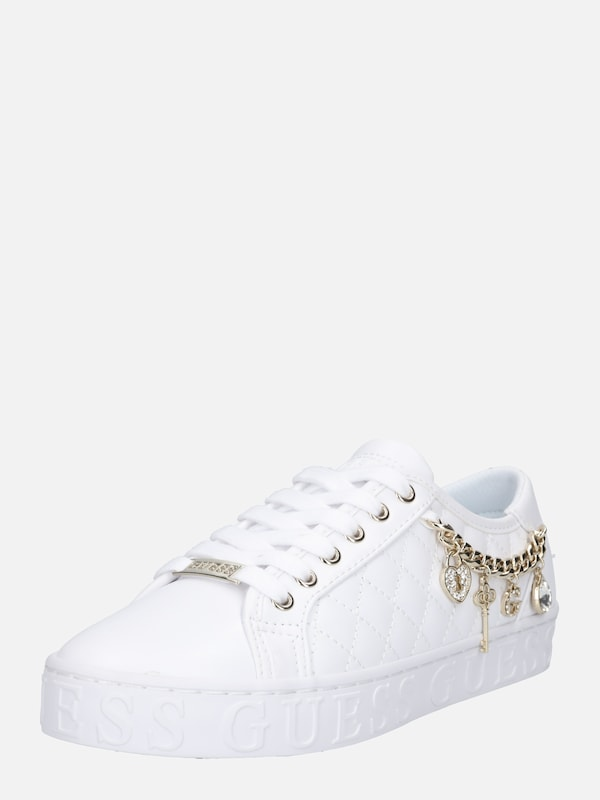GUESS Sneakers laag 'Graselin' in Wit | ABOUT YOU