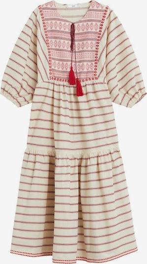MANGO Kleid in weißmeliert, Produktansicht