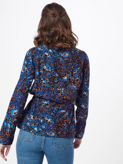 VERO MODA Bluzka 'LAIA' w kolorze ciemny niebieskim: Widok od tyłu