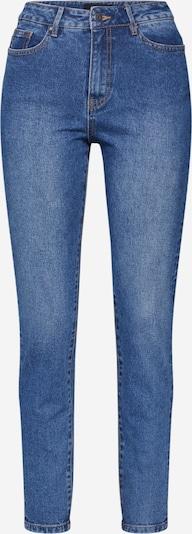 OBJECT Jeans 'OBJHANNAH HW JEANS OXI 107' in blue denim, Produktansicht