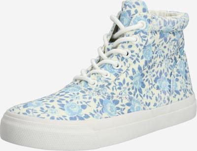 kék / fehér POLO RALPH LAUREN Magas szárú edzőcipők, Termék nézet