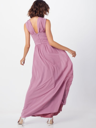 Chi Chi London Kleid 'ELINA' in mauve: Rückansicht